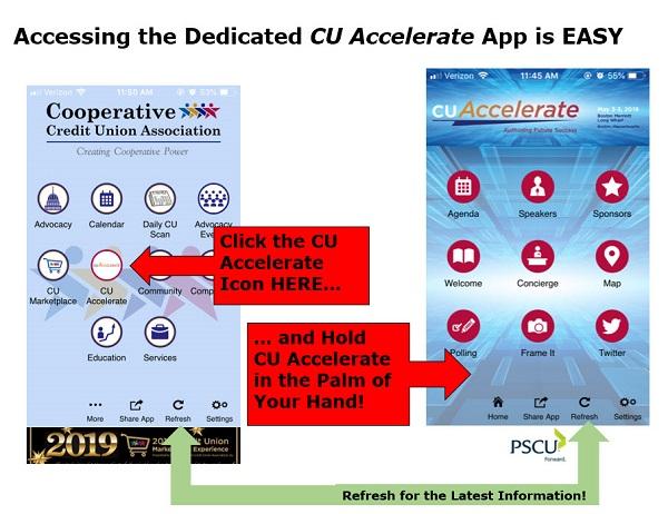 Accessing CU Accelerate App