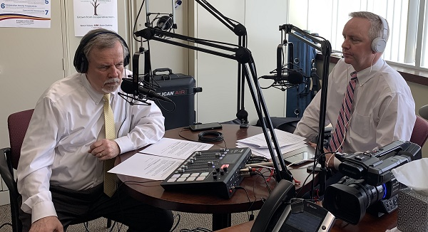 CCUA's webinar hosts Walt Laskos (left) and Ron McLean led a panel of experts through the hour-long discusssion.
