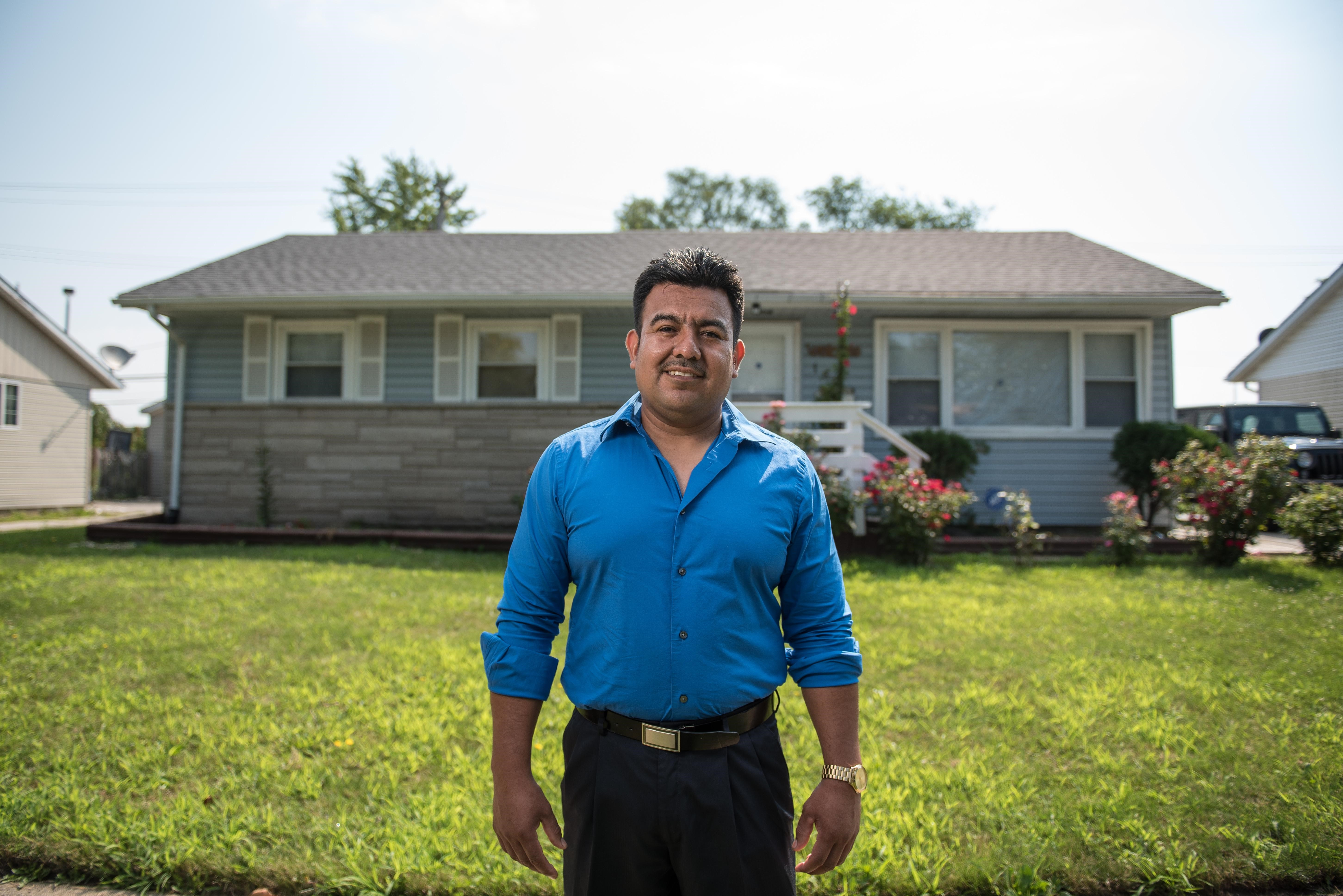 Samuel heard about the ITIN Lending Program offered through  Illiana Credit Union and was finally able to secure an affordable home loan.