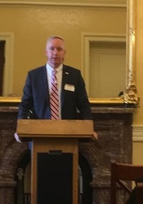 CCUA President/CEO Ron McLean addresses the group prior to Hill Visits.