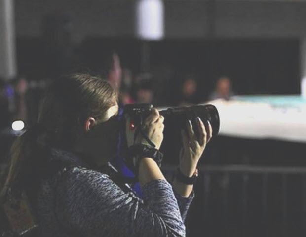 Taylor and camera