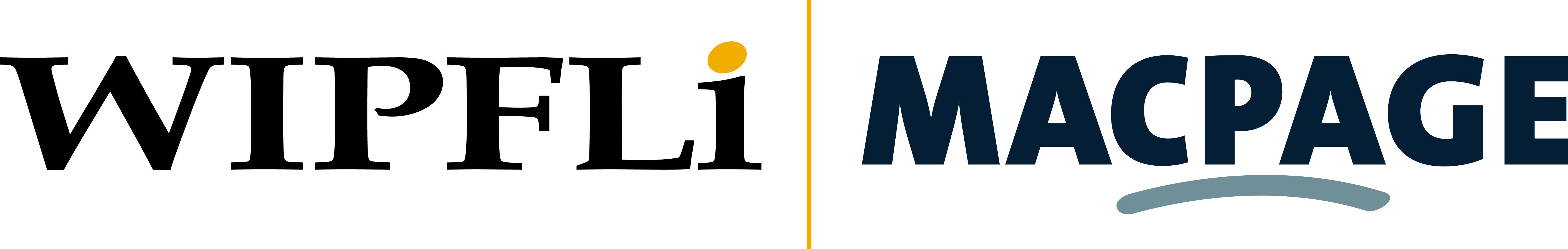WIPFLi | MACPAGE logo