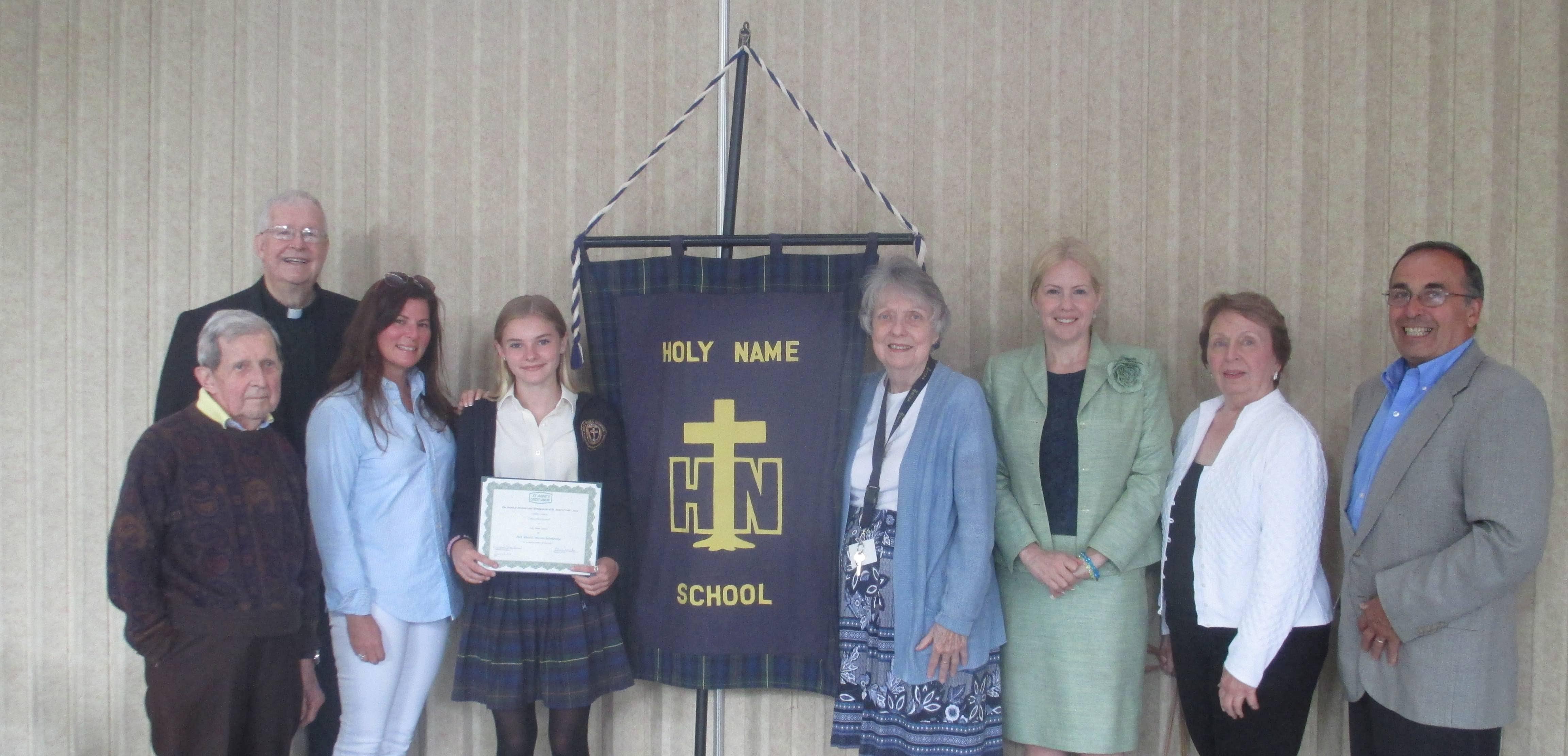 St. Anne's Credit Union Awards Albert E. Mercier Scholarship