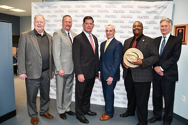 Boston Firefighters Credit Union Donates $100,000 to Help With Wellness in the Police and Fire Departments