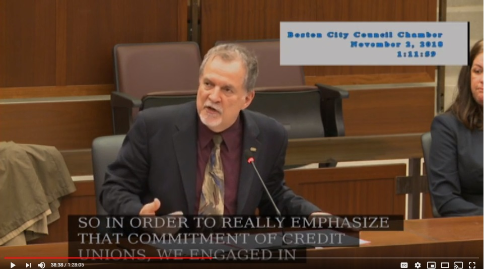 CCUA's Testimony During Friday's Boston City Council Hearing Now Available