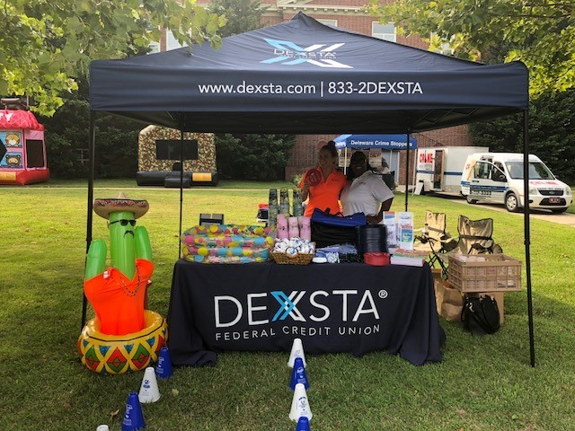 Dexsta Federal Credit Union Takes Part In National Night Out