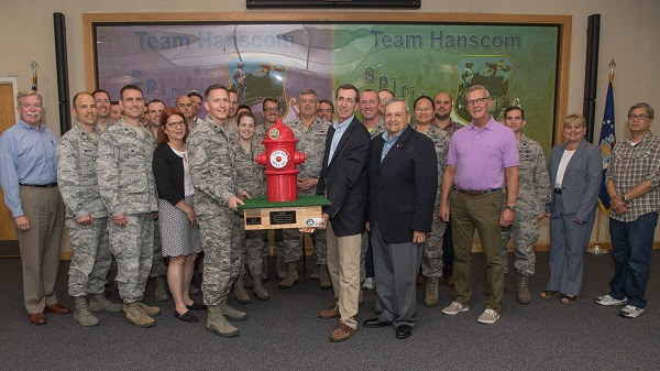 Team Spirit Rewarded with Sweet Prize from Hanscom Federal Credit Union