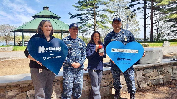 Northeast Credit Union Celebrates Historical Roots with Bocce Court Gift to Portsmouth Naval Shipyard