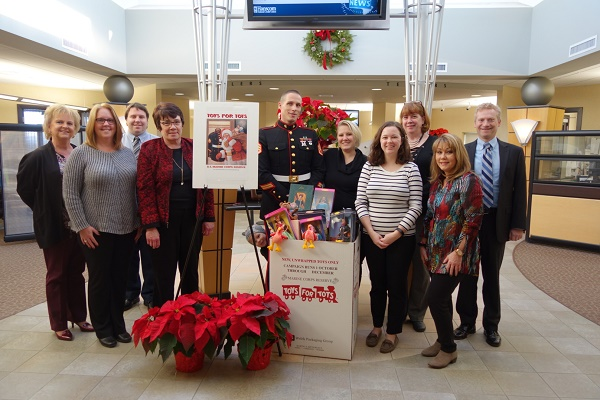 Hanscom Federal Credit Union Collects Toys for Children in Need