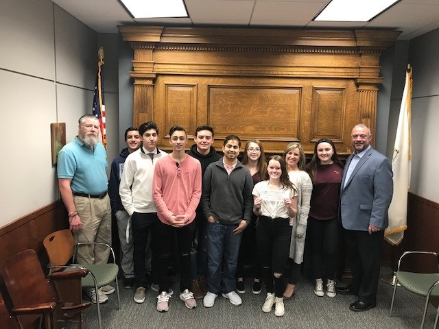 Woburn Municipal Federal Credit Union Donates $4,000 for Woburn High School Students to Attend DECA Competition