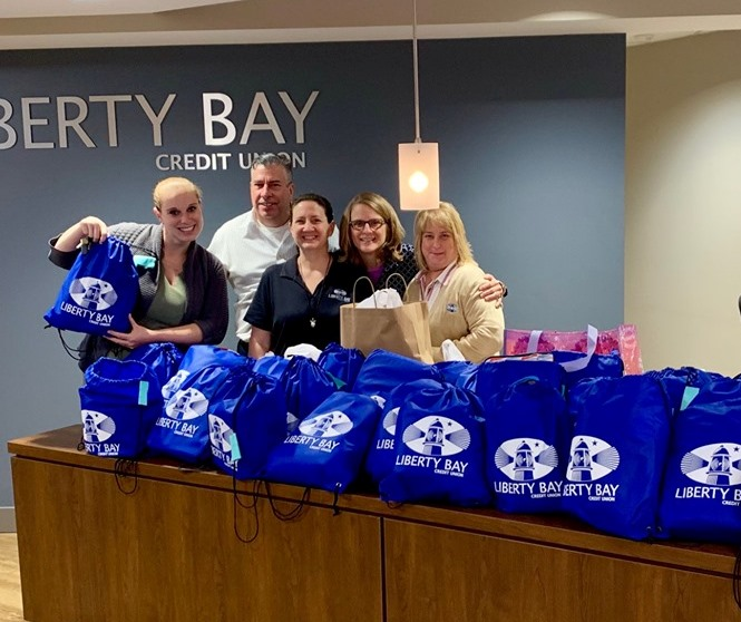 Liberty Bay Credit Union Donates to Old Colony YMCA thumbnail image