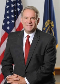 New Hampshire Banking Commissioner Jerry Little